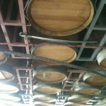 Reyes bottling barrels