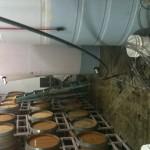 Reyes bottling blending tank