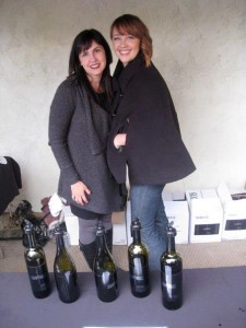"The ""winemaker wives"" Jennifer Hasper and Megan Lemley"