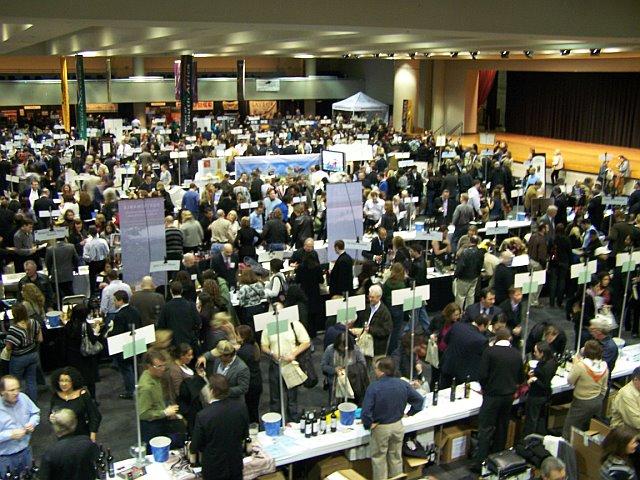 NY Wine Exp.Show Floor