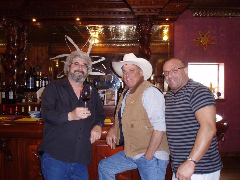 l-r: Michael Perlis, Tobin James, Gaetano Marsano