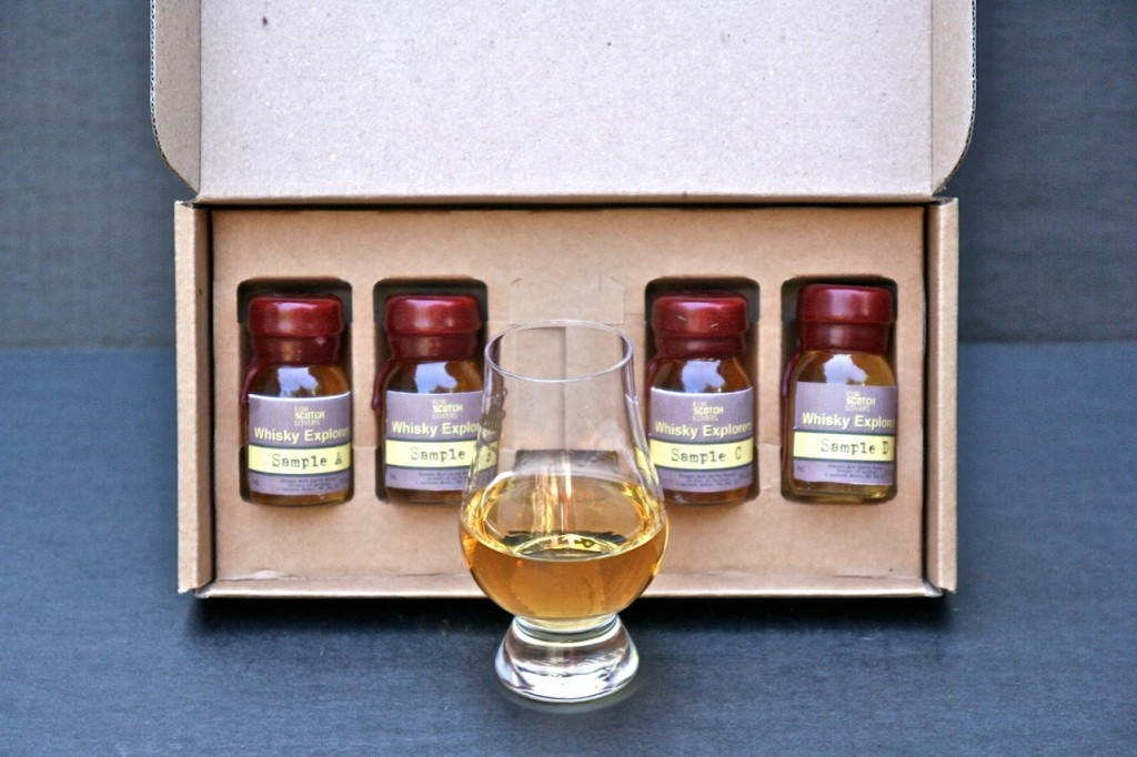scotch lovers inside sampler