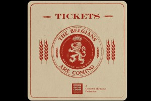 Tickets Coasters-belgians are coming