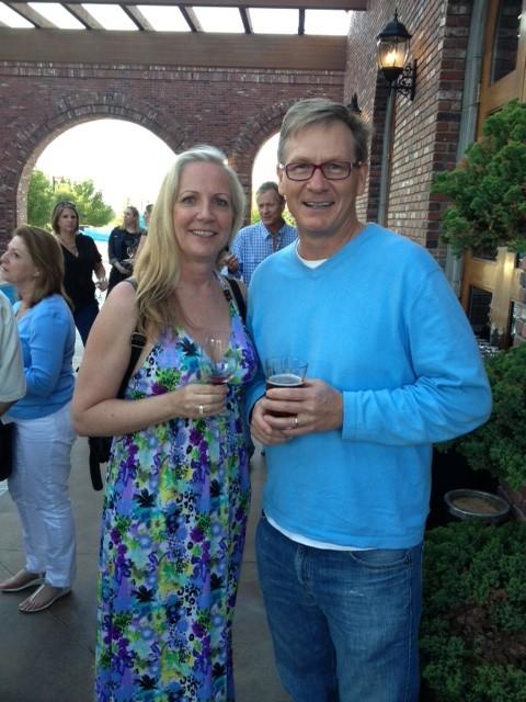 Eve with J. Lohr winemaker Steve Peck