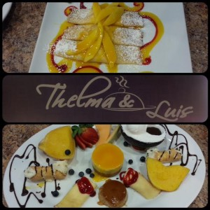 Thelma's and Luis desserts