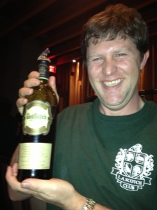 LA Scotch Club President Andy Smith and his 1977 Glenfiddich