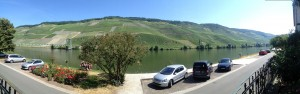 The Mosel from JJ Prum's Porch - 07-23-2013