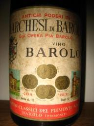 1961 Marchesi de Barolo