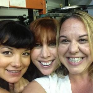l-r: Melissa Pietrosanti, Claudia Sheridan and Jill Friedman.