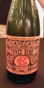 Cuvee Rene Gueze Lambic Beer