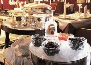 caviar & vodka