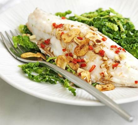 Pairing red wine with fish and seafood for Turkish sea bass recipe