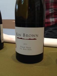 2011 Ken Brown Sta. Rita Hills