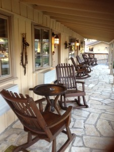 Holman Ranch porch
