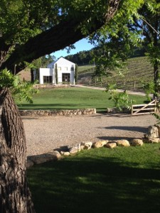 HammerSky Inn view of Tasting Room
