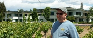 Mike Officer at Library Vineyard