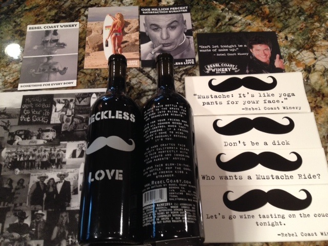 Rebel Coast Winery 2012 :reckless love