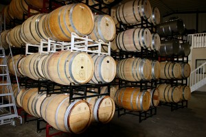 Chateau Margene Barrel Room-1