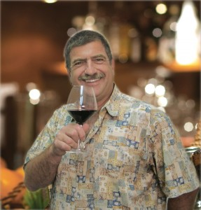 Paul Toasting wine of the month