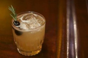 PINES AND NEEDLES Herradura Reposado Tequila, Benedictine,Fresh Lemon Juice, Pineapple, Rosemary, Rocks 14