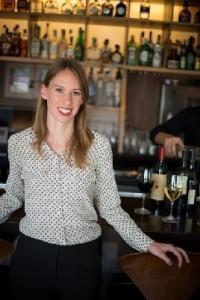 Wine Director Emily Johnston: photo courtesy of Rob Stark Photography