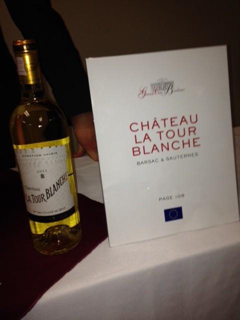 Chateau La Tour Blanche Sauterne
