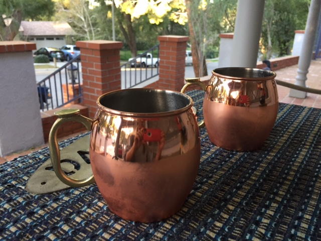 Moscow Mule on the Porch