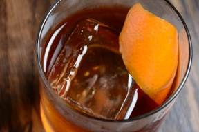 Photos:  Barrel-Aged Old Fashioned, Photo Credit:  acuna-hansen