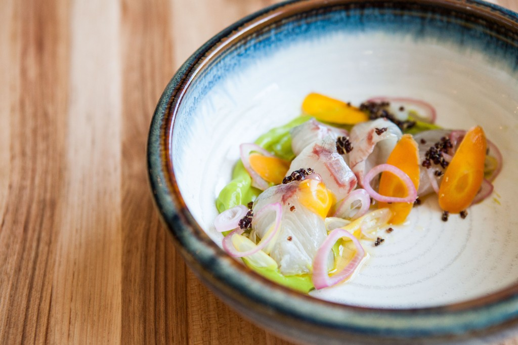 Hamachi Crudo Photo Credit-Marie Buck