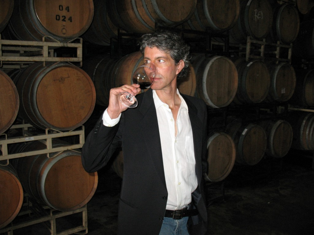 Winemaker Antoine Favero, photo courtesy Mazzocco-Sonoma