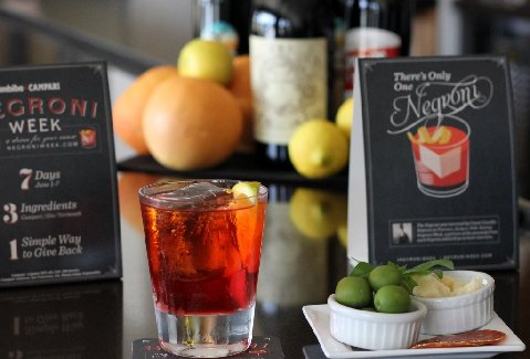 $14 NEGRONI ANTICO for CARPANO NIGHT
