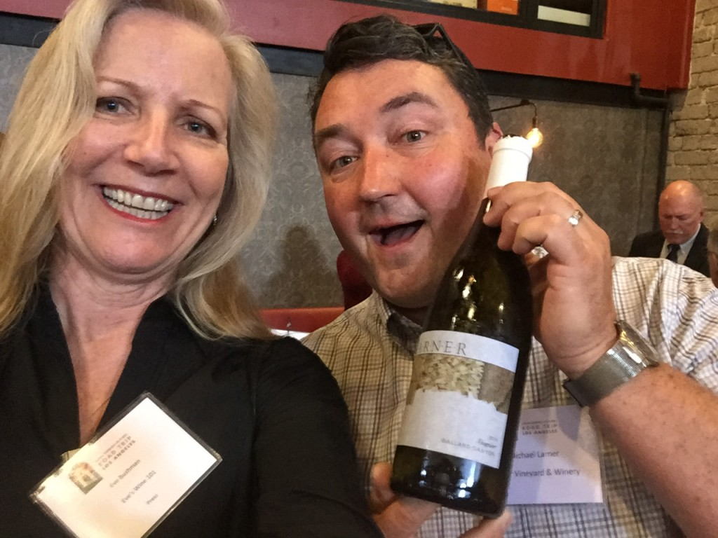 Eve and Michael Larner of Larner Vineyard and Winery.