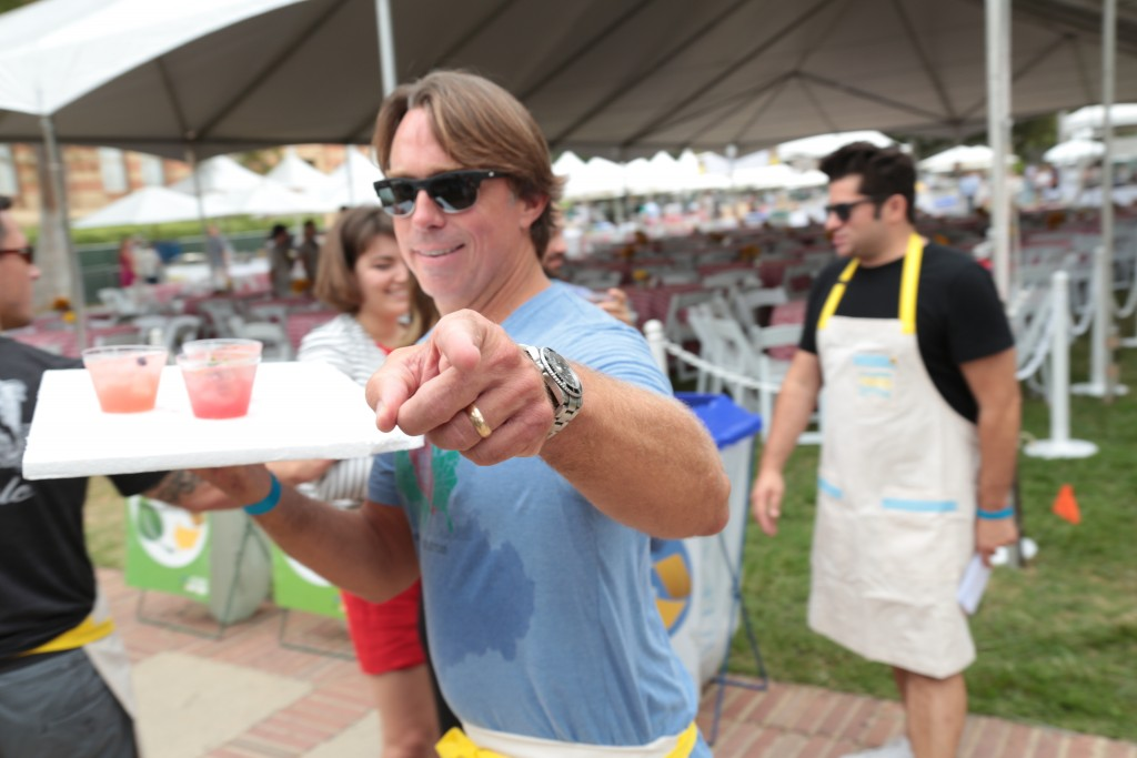 the Alex Loves Lemonade Foundation hosts a fundraiser at the UCLA campus in Los Angeles, CA on September 12, 2015. (Photo: Alex J. Berliner /ABImages)