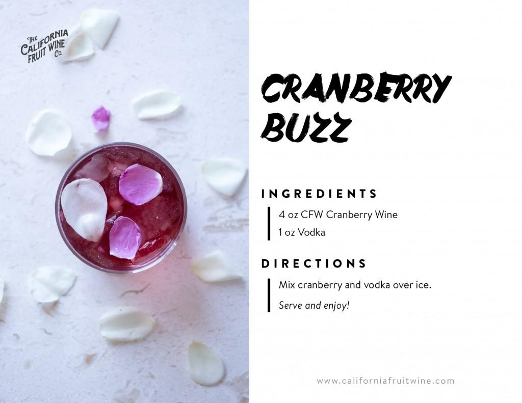 Cranberry Buzz