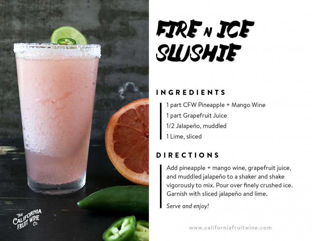 Fire and Ice Slushie