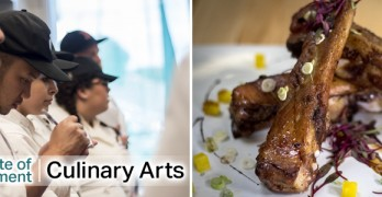 COC Institute for Culinary Education Now Open for Lunch on Thursdays