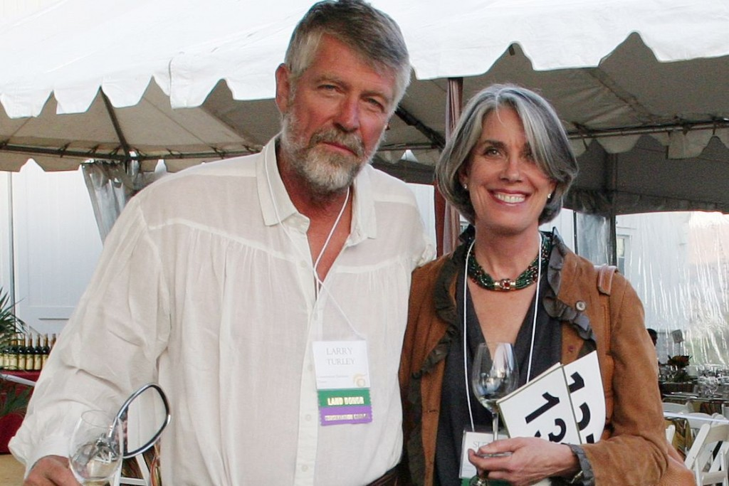 Larry Turley and Suzanne Chambers Turley of Turley Wine Cellars (photo: Napa Valley Register)