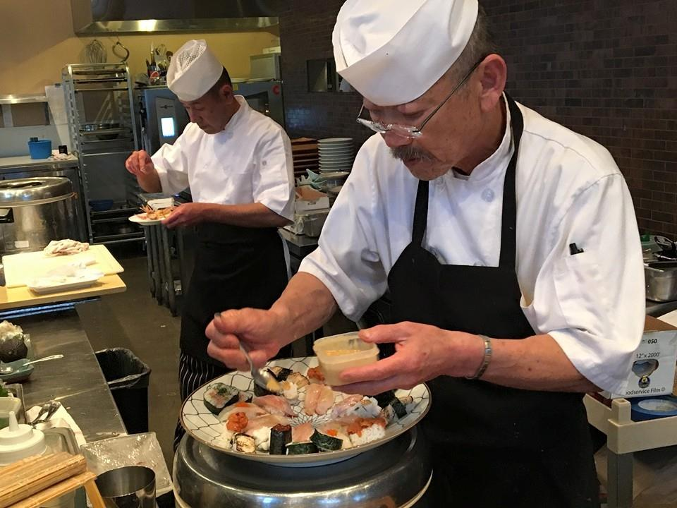 Updated: Sushi chef Kimura-san joined Jason at the new Santa Monica location, which is also now closed.