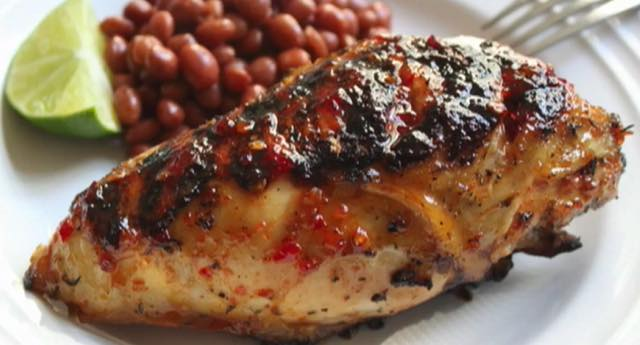 Chef Lance Cowart: Barbecue Chicken, Cherry Sauce Glaze