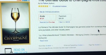 """Liz Palmer's The Ultimate Guide To Champagne is Recognized as the """"The Champagne Bible for All Wine Lovers"""""""