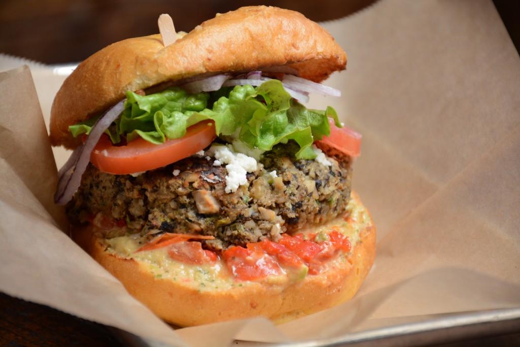Hache LA - Mediterranean Burger