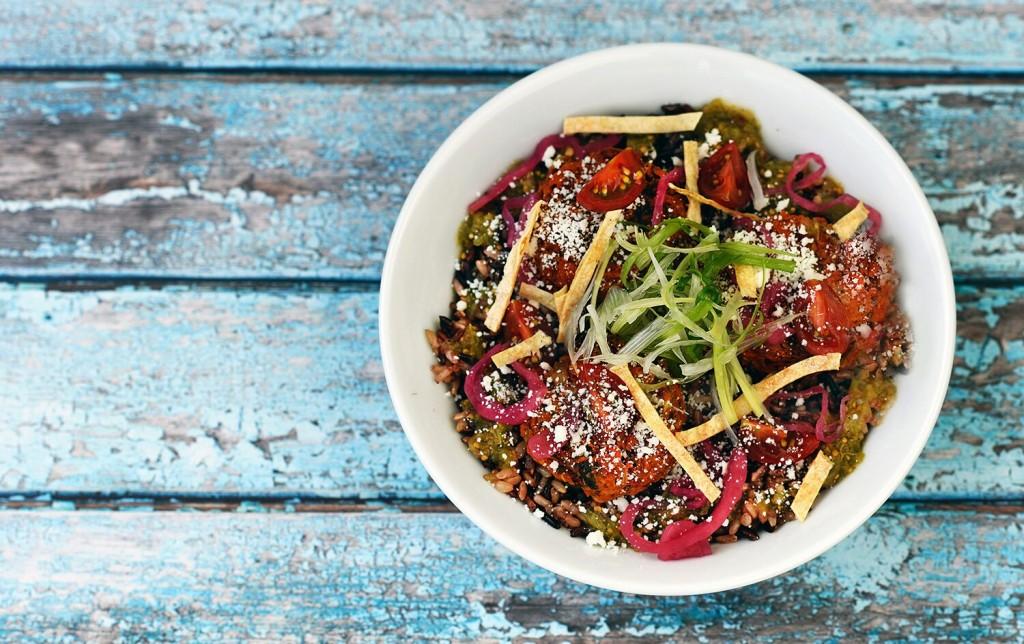 SpireWorks - Baja Kofte Rice Bowl