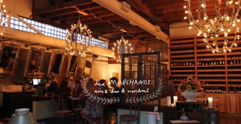 Les Marchands: Weekly Wine Wednesdays and Monthly Somm-Guided Tastings