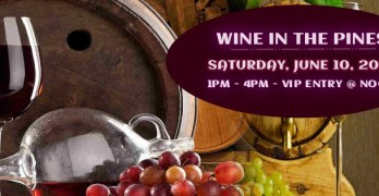 Wine in the Pines 2017: Leave Your Troubles Behind You (Look for Eve there too!)