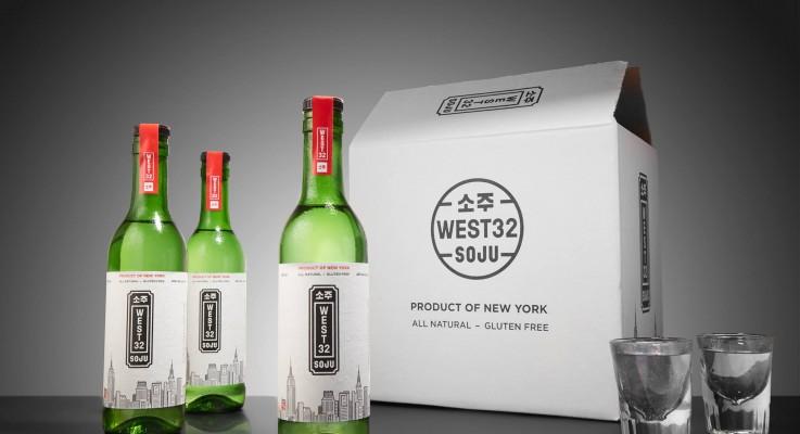 West 32 Soju Wins Gold Medal at 2017 New York International Spirits Competition