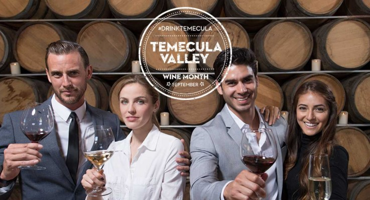 Visit Temecula Valley Celebrates Wine Month with Sips of Wine, Bites to Eat, and Chances to Win Big