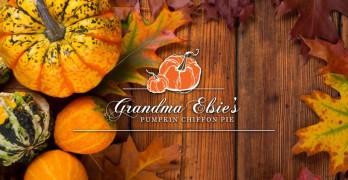 Grandma Elsie's Famous Pumpkin Chiffon Pie from David Grossman
