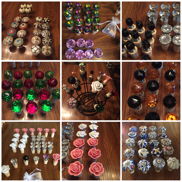 Wine Stoppers by Beth Greenwald