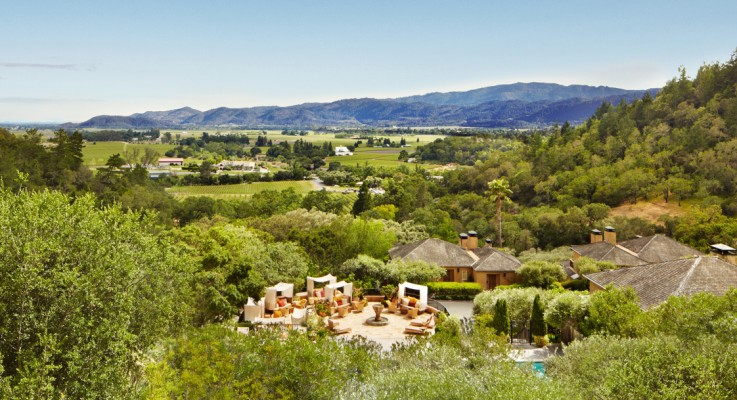 Condé Nast Traveler Editors Name Auberge du Soleil Top Wine Country Hotel in the World