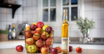 Brännland Cider: The 2018 ice cider extraction has started